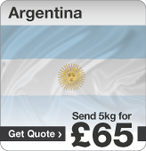 Low cost parcels to Argentina