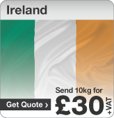 Low cost parcels to Ireland