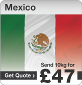 Low cost parcels to Mexico