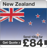 Low cost parcels to New Zealand