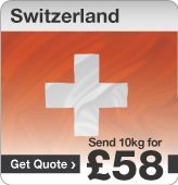Low cost parcels to Switzerland