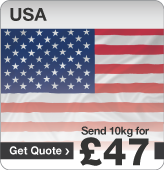 Low cost parcels to USA